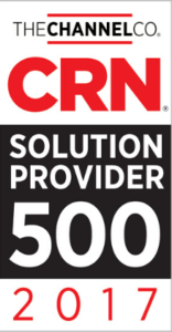 CRN Solution Provider 500 2017 Badge