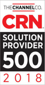 CRN Solution Provider 500 2018 Badge