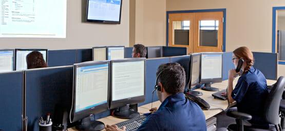 Brite's Network Operations Center
