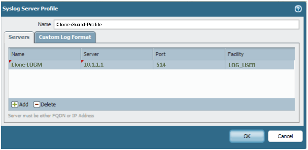 BritePROTECT SYSLOG Forwarding - Brite Computers