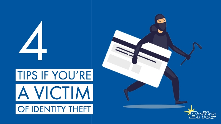 4 tips if you're the victim of identity theft